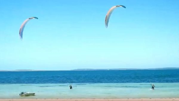 2024 Olympics in the sights of teenage siblings, both national kite-foiling champions – ABC News