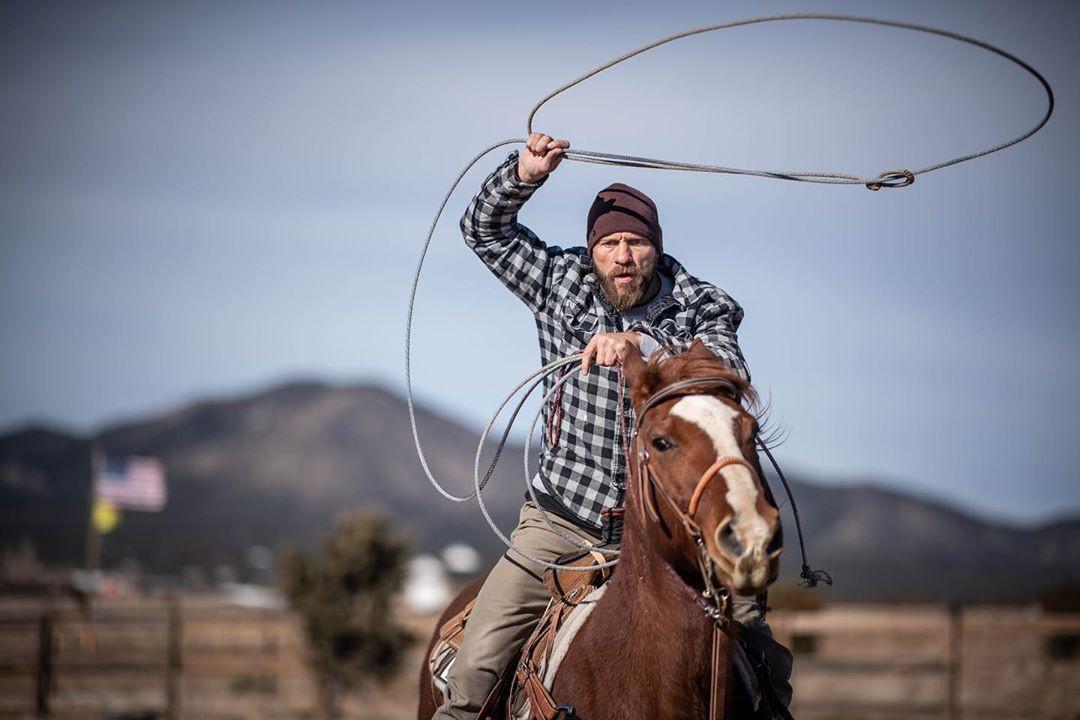 Donald Cerrone lives up to his Cowboy nickname