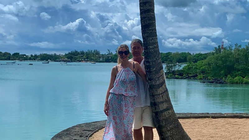 Inside Lisa Faulkner and John Torode's honeymoon in Mauritius with perfect food, coconut water and w – The Sun