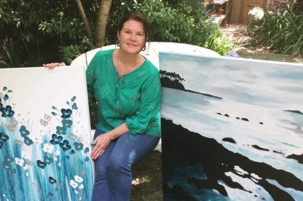 South Coast artist Naomi Crowther keeps painting despite the fires – The RiotACT