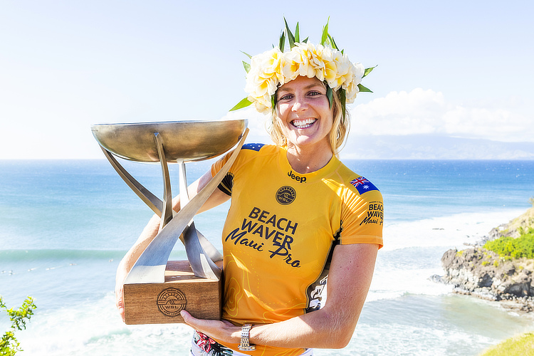 Stephanie Gilmore: seven world titles and 31 Championship Tour event victories   Photo: WSL