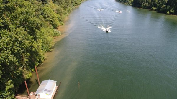 Feds Say Willamette River Wake Surfing Could Harm Salmon – OPB News
