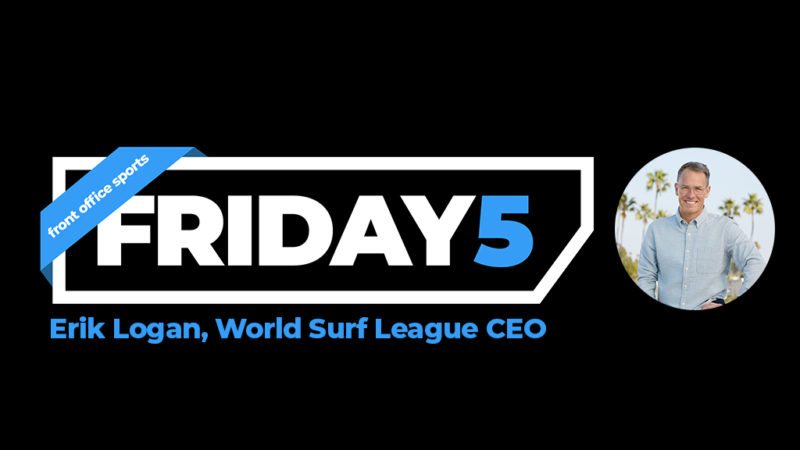 Friday Five: WSL CEO Erik Logan On Surfing's Olympic Debut, WSL Growth – Front Office Sports