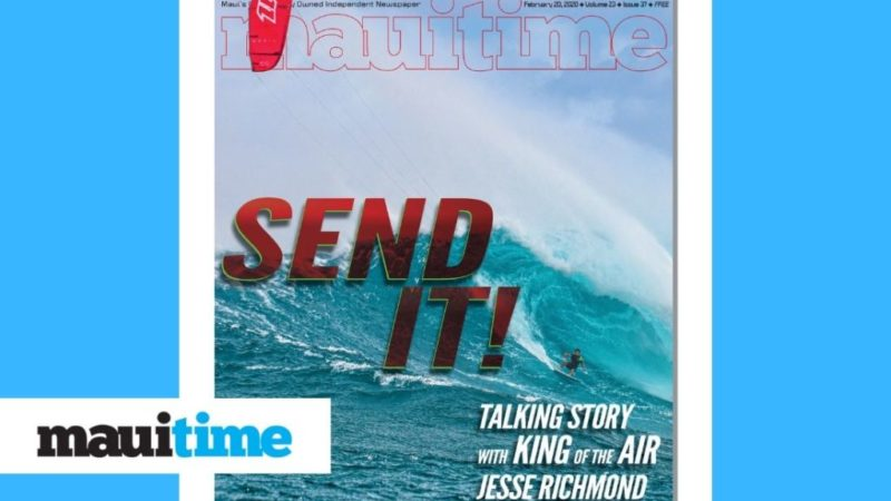 Jesse Richman Wins King of Air and Spreads Stoke on Maui – Maui Time