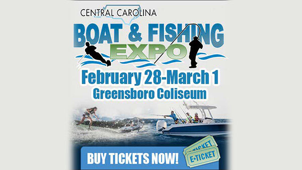 The Central Carolina Boat & Fishing Expo | Feb 28, 2020 | Greensboro Coliseum – On Air With Ryan Seacrest