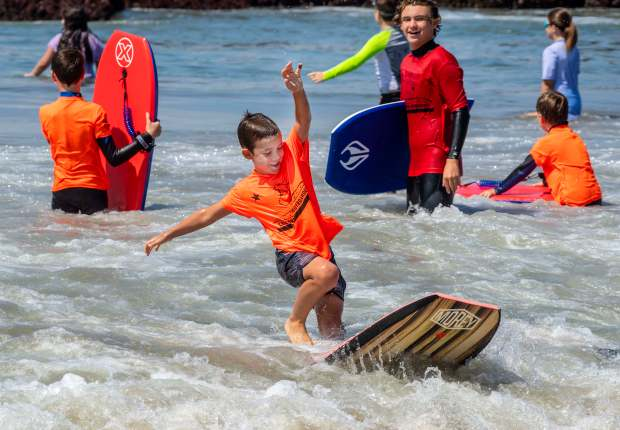 Beach camps splash into summer along the coast – OCRegister