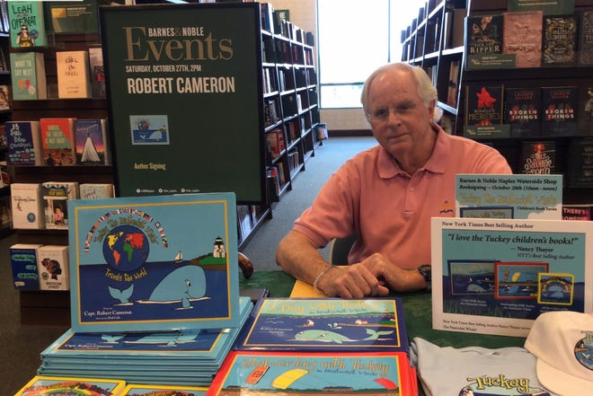 Bonita Springs children's book author battles illness to create joy with whale tales – Naples Daily News