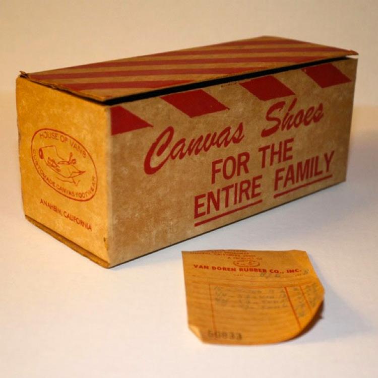 Canvas Shoes for the Entire Family: The Van Doren Rubber Company's original motto   Photo: Vans