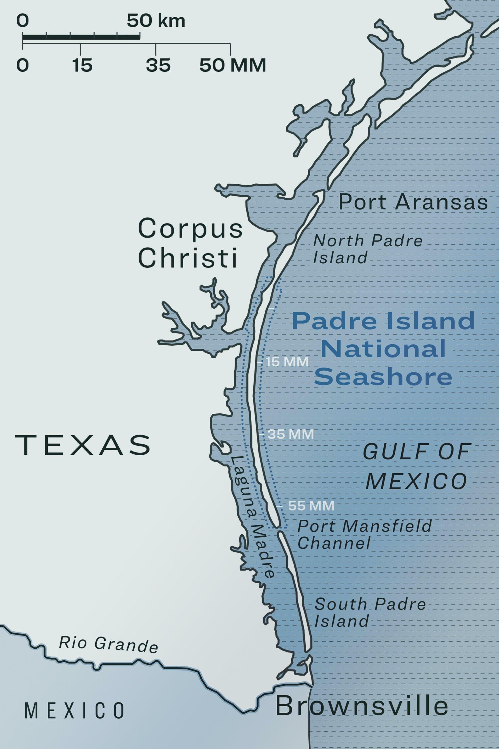 A Four-Day, 65-Mile Walk Along the Texas Coast – Texas Monthly