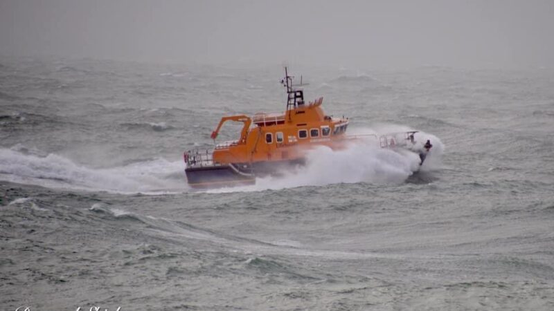 Lifeboats called to series of emergencies in Storm Francis – Dorset Echo