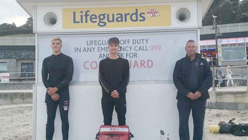 Lyme Regis lifeguards rescue unresponsive boy from water – LymeOnline