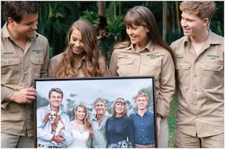 Steve Irwin's Daughter Bindi Shares Moving Artwork Reimagining Wedding Day with Dad – News18