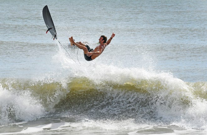 Surfers flock to beaches after Tropical Storm Isaias sweeps past Space Coast – Florida Today