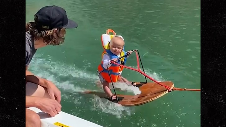 6-Month-Old Baby Goes Waterskiing, Parents Say He's World's Youngest – TMZ
