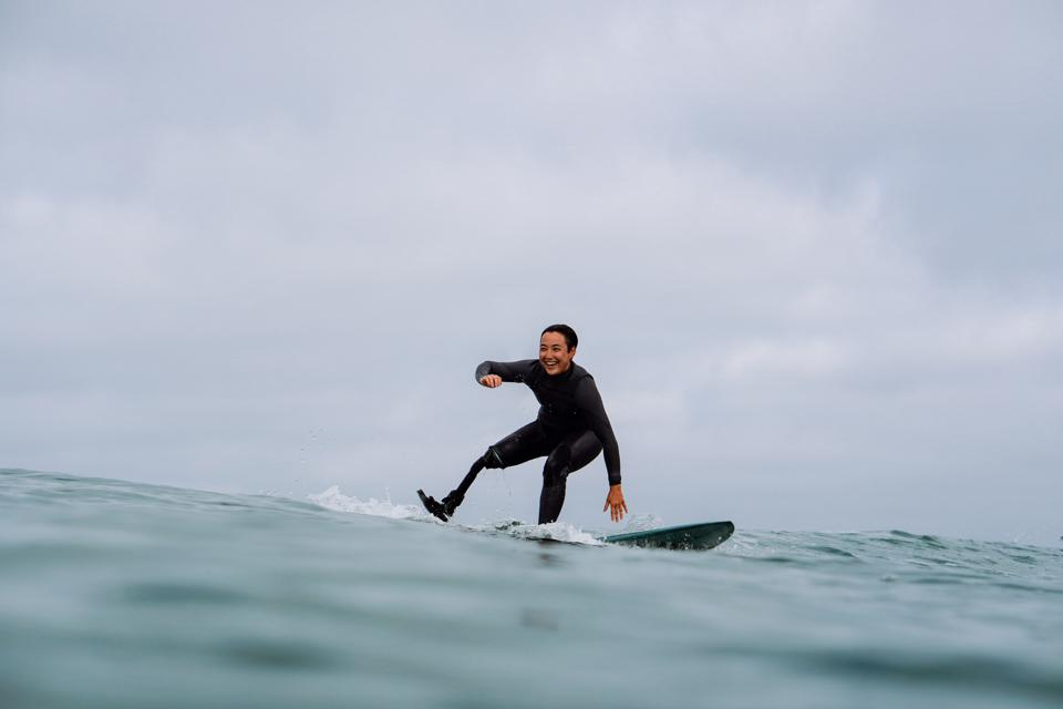 Adaptive Surfer Dani Burt Is More Than Just An Inspirational Story – Forbes