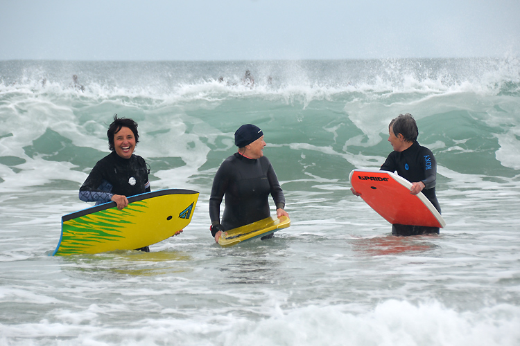 The Board Stiffs: they're not afraid of big waves | Photo: The Board Stiffs