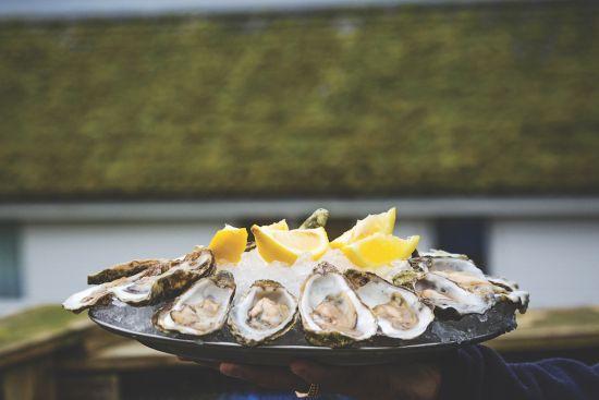 scotland oysters british isles cruise