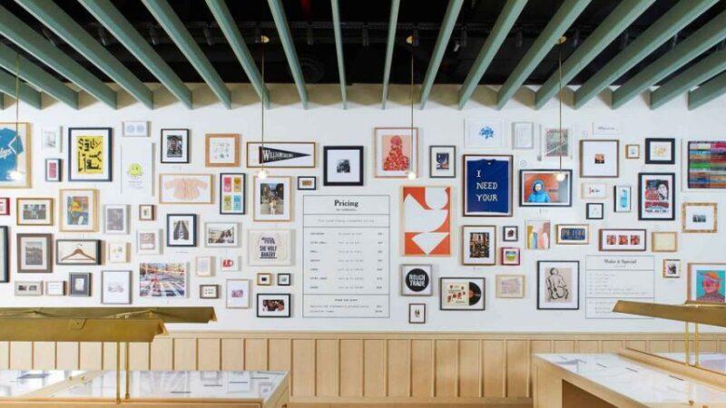 Framebridge's New Williamsburg Store Is Like a Creative Studio for NYC Lovers – Yahoo Lifestyle