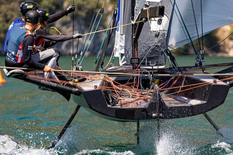 Sailmon - 2020 Foiling Week Garda - photo © Foiling Week