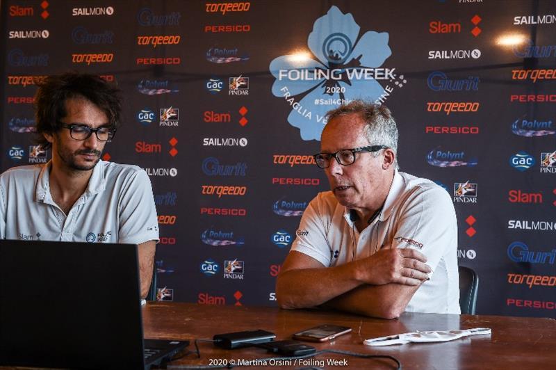 Gurit Forum - 2020 Foiling Week Garda - photo © Martina Orsini / Foiling Week