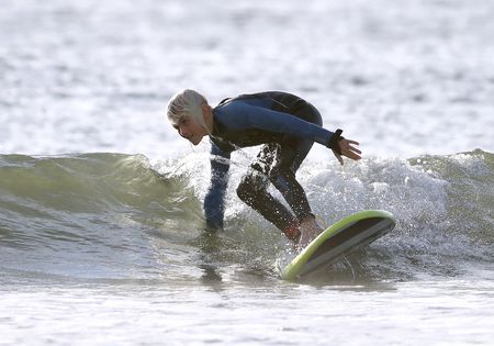 9-year-old N.J. boy surfs 150 consecutive days, Oct. 21, 2020