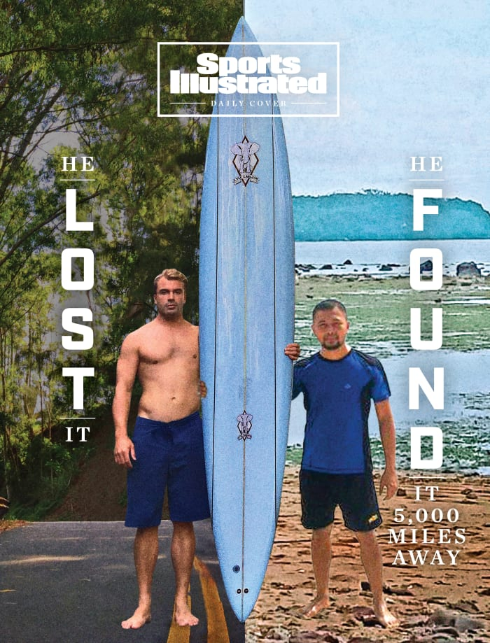 An Ocean Separated Them. A Surfboard Connected Them. See: 2020 Has a Happy Story After All – Sports Illustrated