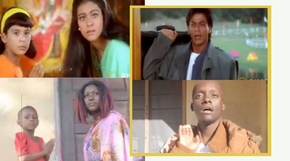 Comedian from East Africa recreates SRK's iconic 'Kuch Kuch Hota Hai' scene and its hilarious – The Indian Express