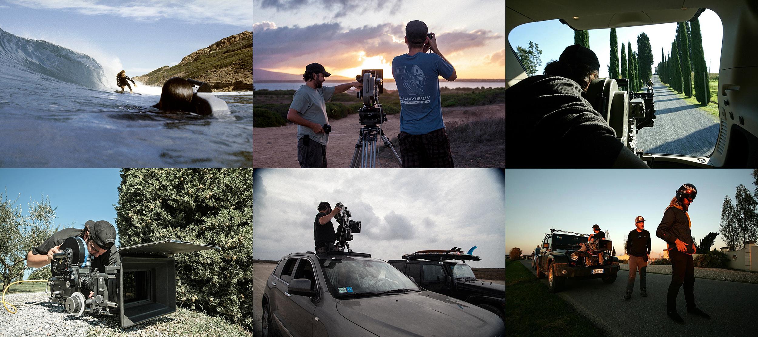 Surf Cinema Sundays, Bella Vita, Chris Del Moro, Jason Baffa,