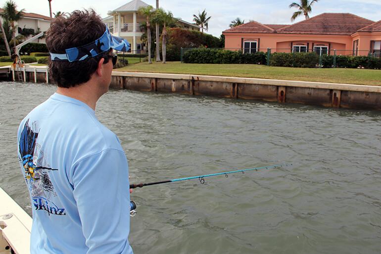 inshore seawall fishing