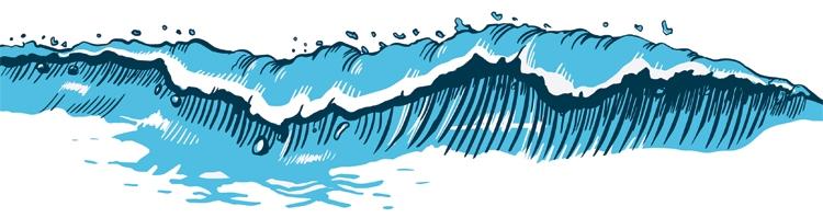 How to draw waves – SurferToday