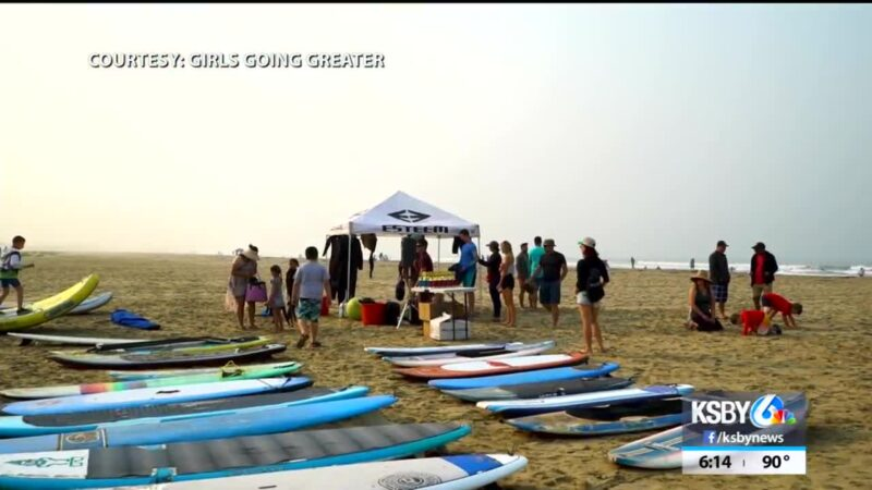 Local nonprofit helps people with special needs learn how to surf – KSBY San Luis Obispo News