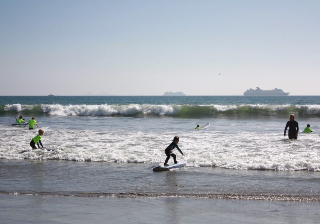 Surfing for Middle School, K-5 Families Swells Spirits – Coronado Times Newspaper