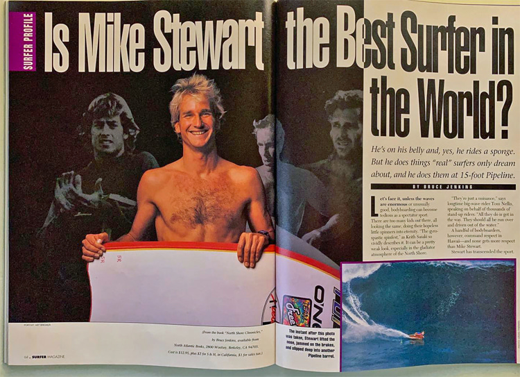 Surfer Magazine: Is Mike Stewart the Best Surfer in the World?