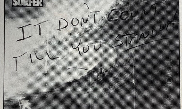 The Mike Stewart poster that infuriated Surfer readers – SurferToday