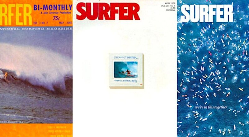 """Warshaw on Death of SURFER magazine: """"It's been hanging by a thread since it was sold to the owner of National Enquirer in 2019, but the clock has been ticking since Al Gore invented the internet."""" – BeachGrit"""